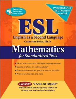 ESL Mathematics for Standardized Tests (REA)
