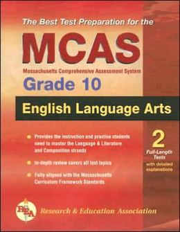 MCAS ELA Language Arts Grade 10 (REA)