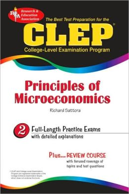 The Best Test P CLEP Principles of Microeconomics (REA)-The Best Test Prep for