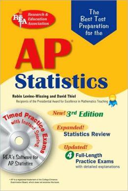 Best Test Prep AP Statistics with CD-ROM (REA) The Best Test Prep for the AP Statistics Exam with TESTware