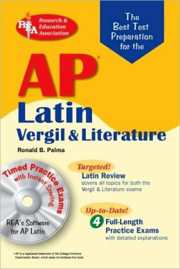 AP Latin Vergil and Literature Exams w/CD-ROM (REA)The Best Test Prep for