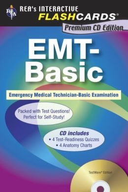 EMT-Basic Interactive Flashcards w/ CD-ROM (REA)