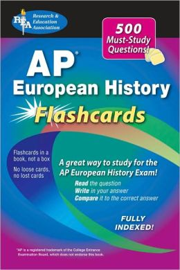 AP European History Flashcard Book