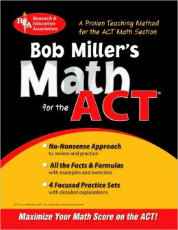 Bob Miller's Math for the ACT
