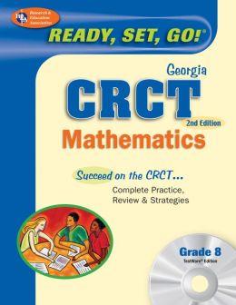 Georgia CRCT Grade 8 Math with TestWare (REA)