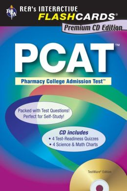 PCAT Premium Edition Flashcard Book (REA)