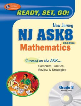 NJ ASK8 Mathematics 4th edition w/TestWare on CD-Rom