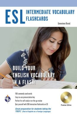 ESL Vocabulary Flashcards with CD