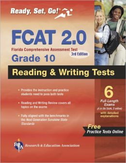 FCAT FL 2.0 Reading & Writing Tests Grade 10 w/Online Practice Tests