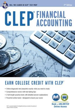 CLEP Financial Accounting w/Online Practice Tests, 2nd Edition