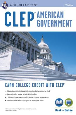 CLEP American Government, 2nd Edition with Online Practice Tests