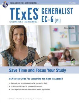 TExES Generalist EC-6 (191), 2nd Edition