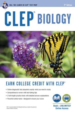 CLEP Biology, 3rd Edition w/Online Practice Tests