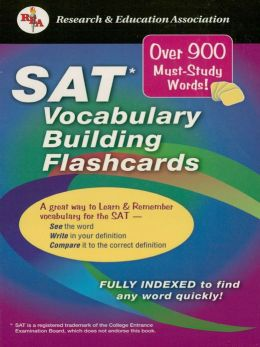 SAT Vocabulary Builder Interactive Flashcards Book