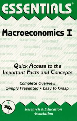 Macroeconomics I Essentials
