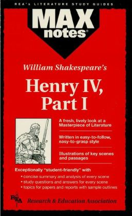 Henry IV, Part I (MAXNotes Literature Guides)