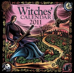 2011 Llewellyn's Witches' Wall Calendar