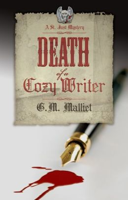Death of a Cozy Writer (St. Just Series #1)
