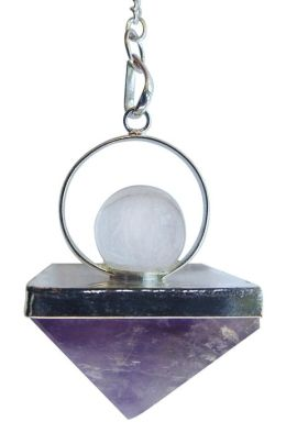 Amethyst Pyramid Pendulum
