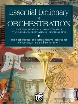 Essential Dictionary of Orchestration: Pocket Size Book