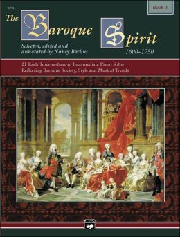 The Baroque Spirit, Bk 1: Book & CD
