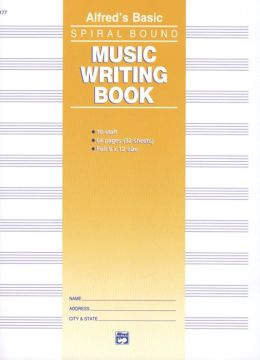 10 Stave Music Writing Book
