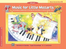Music for Little Mozarts Recital Book, Bk 1