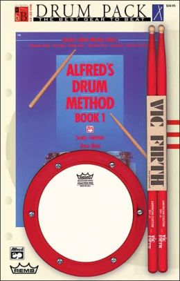 Alfred's Drum Method, Bk 1: Beginning Drum Pack (Book, Pad, & Sticks), Drum Pack (Book, Pad, & Sticks)