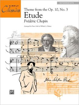 Etude, Op. 10, No. 3 (Theme): Sheet