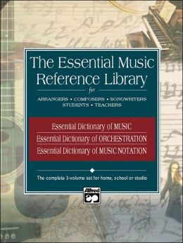 Essential Music Reference Library: Boxed Set, 3 Books Box Set