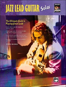 Jazz Lead Guitar Solos: Book & CD