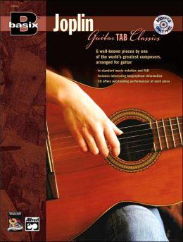 Basix Joplin Guitar TAB Classics: Book & CD