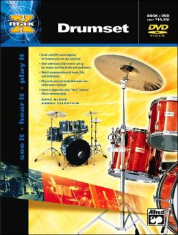Alfred's MAX Drumset: Book & DVD