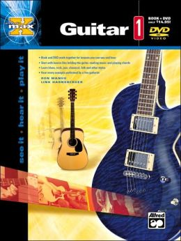 Alfred's MAX Guitar 1: Book & DVD
