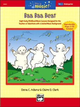 This Is Music!, Vol 2: Baa Baa Beat, Book & CD