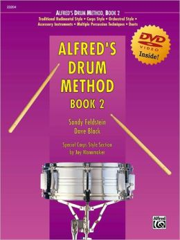 Alfred's Drum Method, Bk 2: Book & DVD (Sleeve)