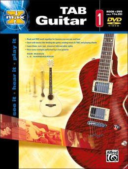 Alfred's MAX TAB Guitar 1: Book & DVD