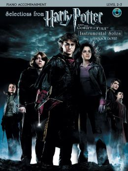 Selections from Harry Potter and the Goblet of Fire: Piano Acc., Book & CD