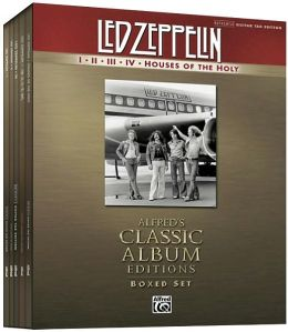 Led Zeppelin I-V (Boxed Set): Boxed Set (Authentic Guitar TAB), Book (Boxed Set)