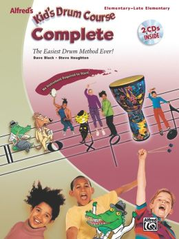 Alfred's Kid's Drum Course Complete: Book & 2 CDs