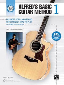 Alfred's Basic Guitar Method, Bk 1