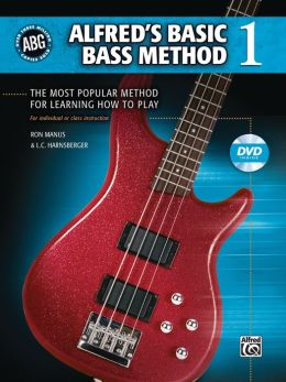 Alfred's Basic Bass Method, Bk 1: Book & DVD