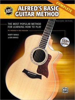 Alfred's Basic Guitar Method: Complete