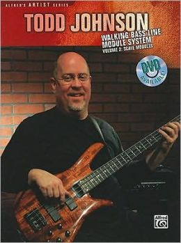 Todd Johnson Walking Bass Line Module System, Vol 2: Scale Modules