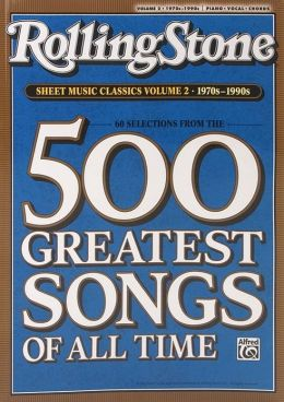 Rolling Stone Sheet Music Classics, Vol 2: 1970s-1990s