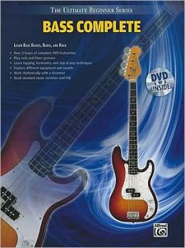 Ultimate Beginner -- Bass Complete: Book & DVD (Sleeve)