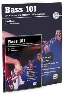 Bass 101: A Contemporary Approach to Playing Bass, Book & DVD
