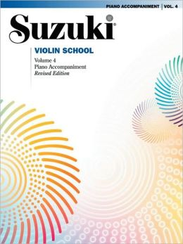 Suzuki Violin School, Vol 4: Piano Acc.