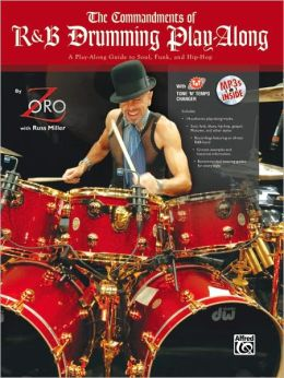The Commandments of R&B Drumming Play-Along: Book & MP3 CD