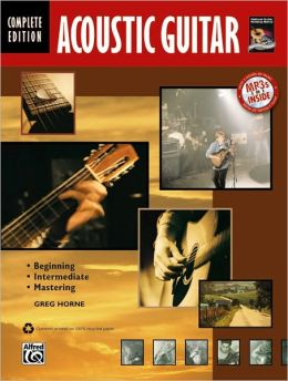 Complete Acoustic Guitar Method: Complete, Book & CD
